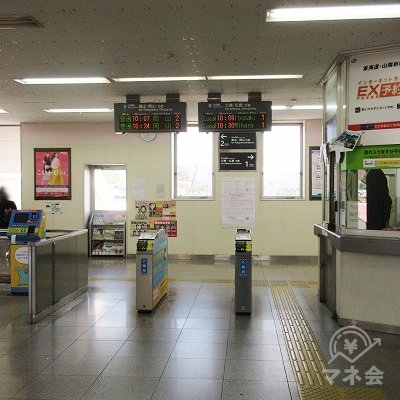 JR山陽本線、東尾道駅改札(1つのみ)を出ます。