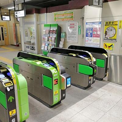 JR西浦和駅の改札です。