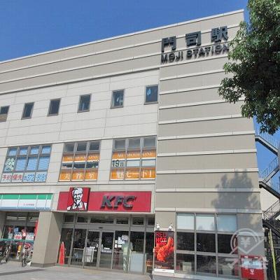 門司駅南口側の駅舎です。