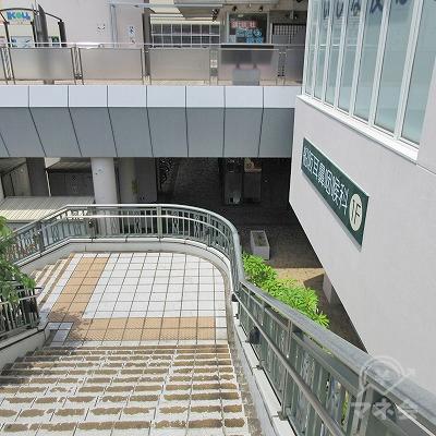 階段の様子です。