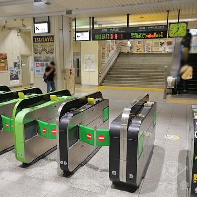 JR戸田駅の改札です。