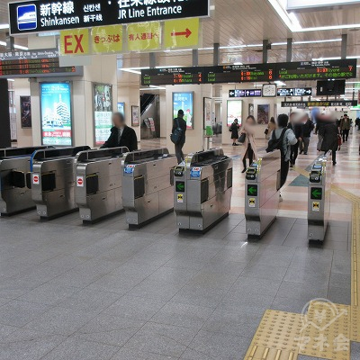 JR山陽本線、福山駅(在来線改札1つのみ)を出ます。