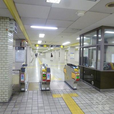大阪メトロ千日前線・野田阪神駅の7・8番側改札口(南改札口)です。