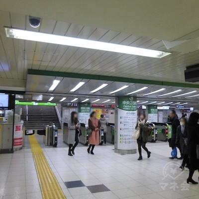 JR池袋駅の中央改札です。