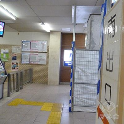 阪急京都線・上新庄駅、南出口を出ます。