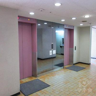 エレベーターホールがあります。