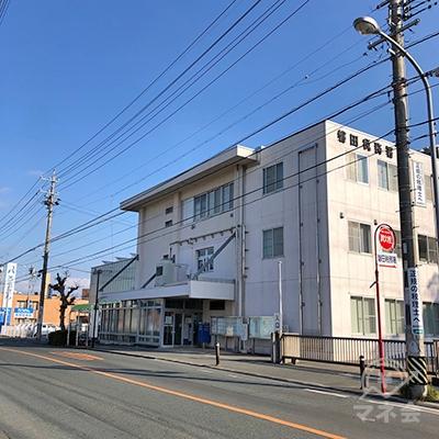 磐田税務署を通り過ぎて直進を続けます。