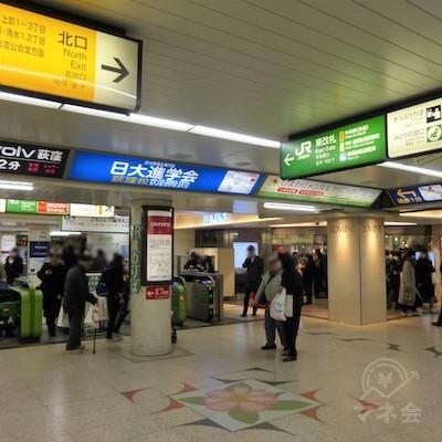 JR荻窪駅の東改札です。