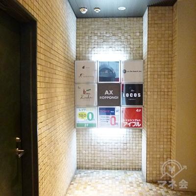 レイクは2階です。エレベーターで2階へどうぞ。
