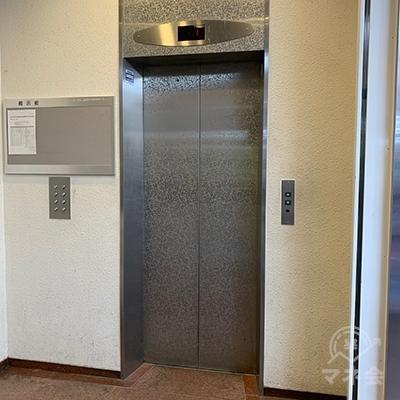 エレベーターで6Fへ向かいましょう。