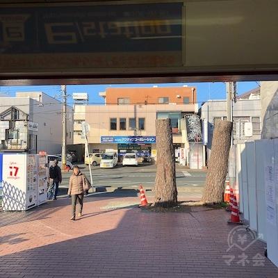 豊橋鉄道渥美線の南栄駅出口は1つしかありません。