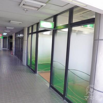 2階にあるレイクALSAの入口です。
