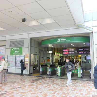 JR新宿駅東南口です。