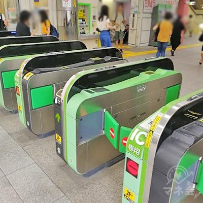 JR港南台駅の改札です。