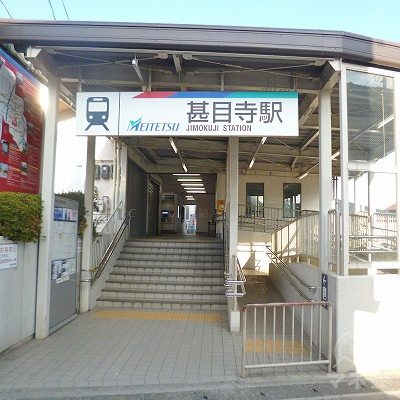 名鉄津島線の甚目寺駅にて下車します。