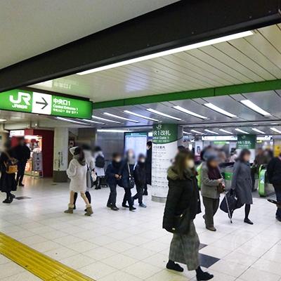 JR池袋駅中央改札です。