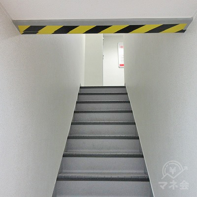 3階に上がります。
