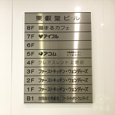 エレベーターで7階に上がってください。