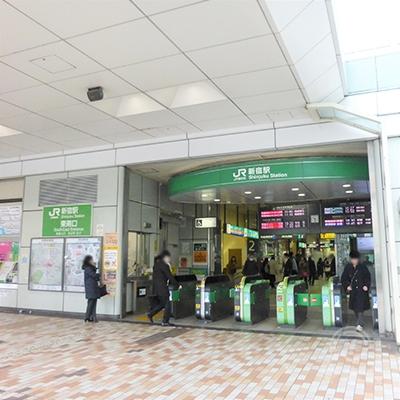 JR新宿駅、東南口です。