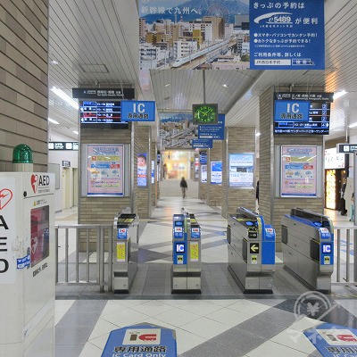 JR神戸線、明石駅中央改札を出ます。