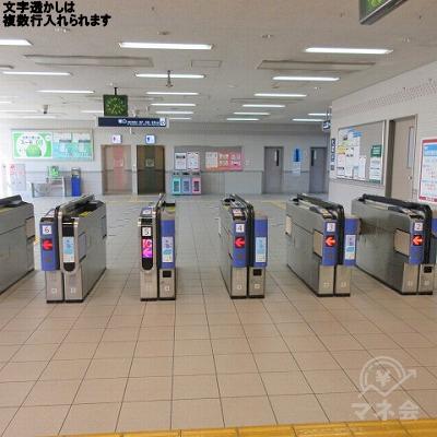 阪急伊丹線、伊丹駅の改札を出ます。