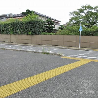 4つ目を横断後は左へ進みます。