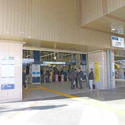 行徳駅の改札です。