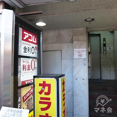 入り口奥にエレベーターがあります。