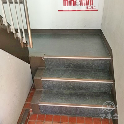 階段があります。