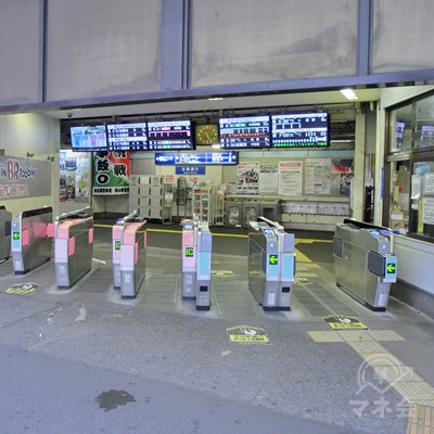 東武スカイツリーラインの春日部駅南口改札を出ます。
