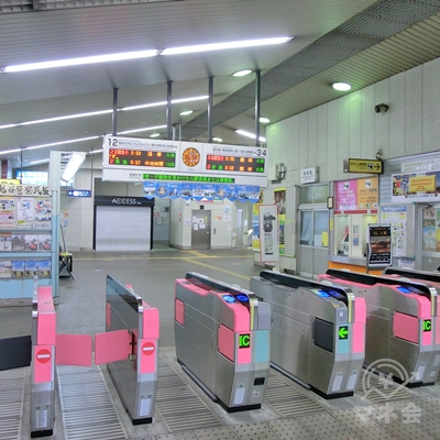 東武スカイツリーラインのせんげん台駅改札を出ます。