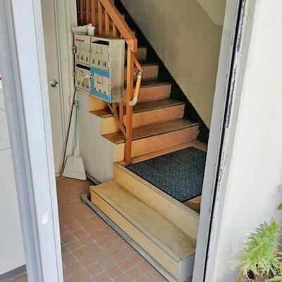 3階へは階段でアクセスすることになります。