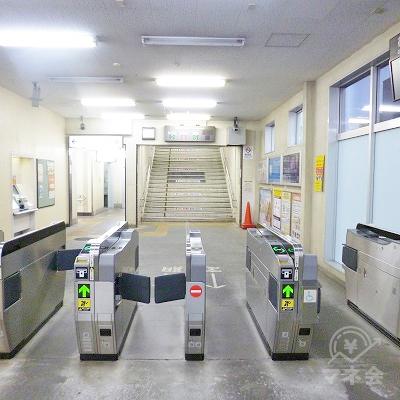 JR東海道本線の沼津駅にて下車し、北改札口から出ます。