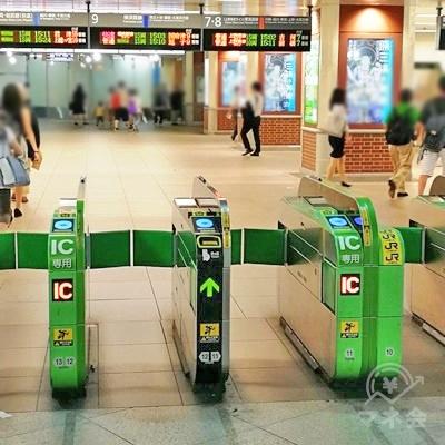 JR横浜駅南改札です。