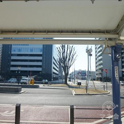 南口駅前広場です。