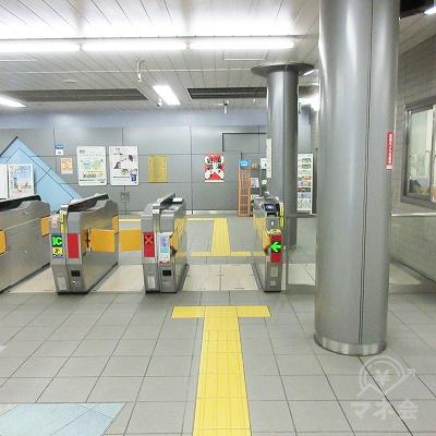 大阪メトロ長堀鶴見緑地線西大橋駅改札(1つのみ)を出ます。