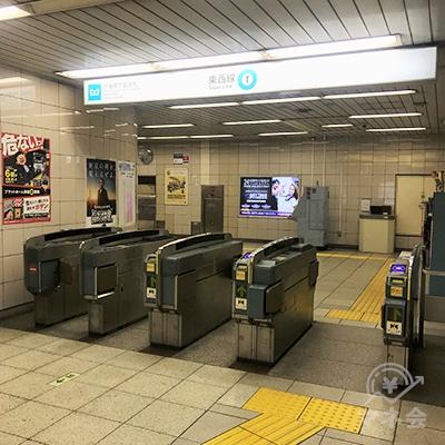 東京メトロ東西線木場駅沢海橋方面改札を出ます。