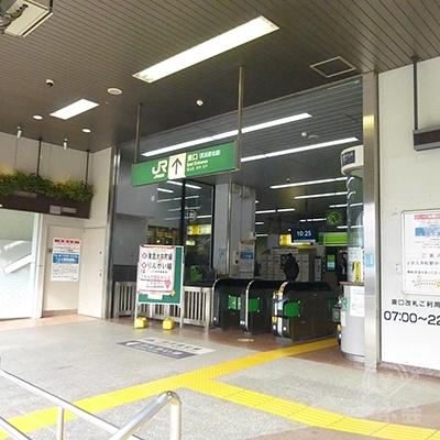 大井町駅の東口を出ます。
