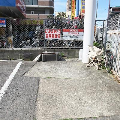 専用駐車場です。